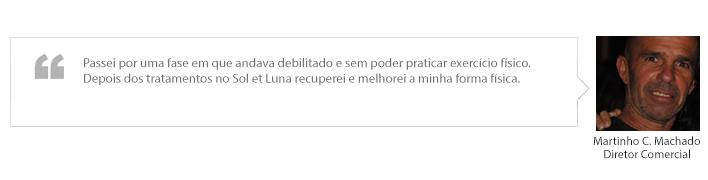 testemunho Martinho C. Machado
